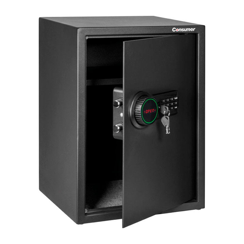 CAJA DE SEGURIDAD DIGITAL CON LCD GRANDE CONSUMER
