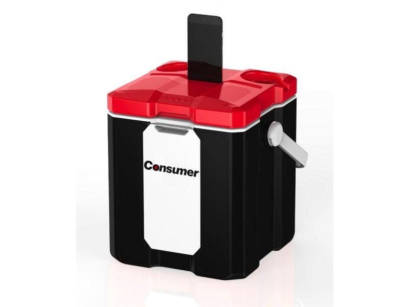 SMART COOLER BOX NEGRO DE 12 LTS CONSUMER
