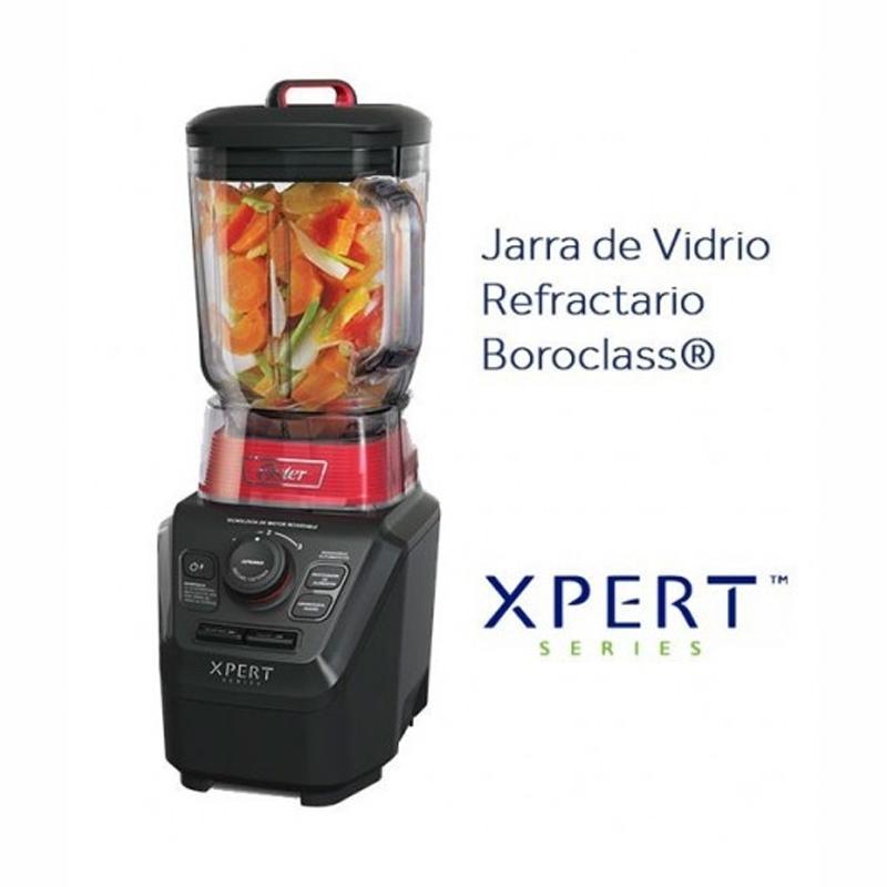 LICUADORA OSTER® XPERT SERIES™ CON VASO DE VIDRIO BOROCLASS®