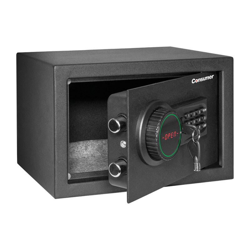 CAJA DE SEGURIDAD DIGITAL CON LCD CHICA CONSUMER