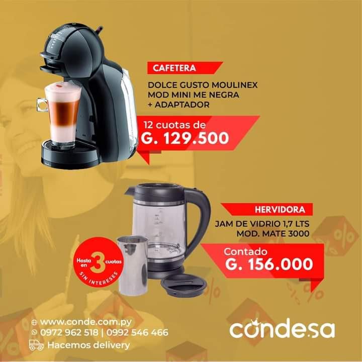 CAFETERA MOULINEX + HERVIDORA JAM