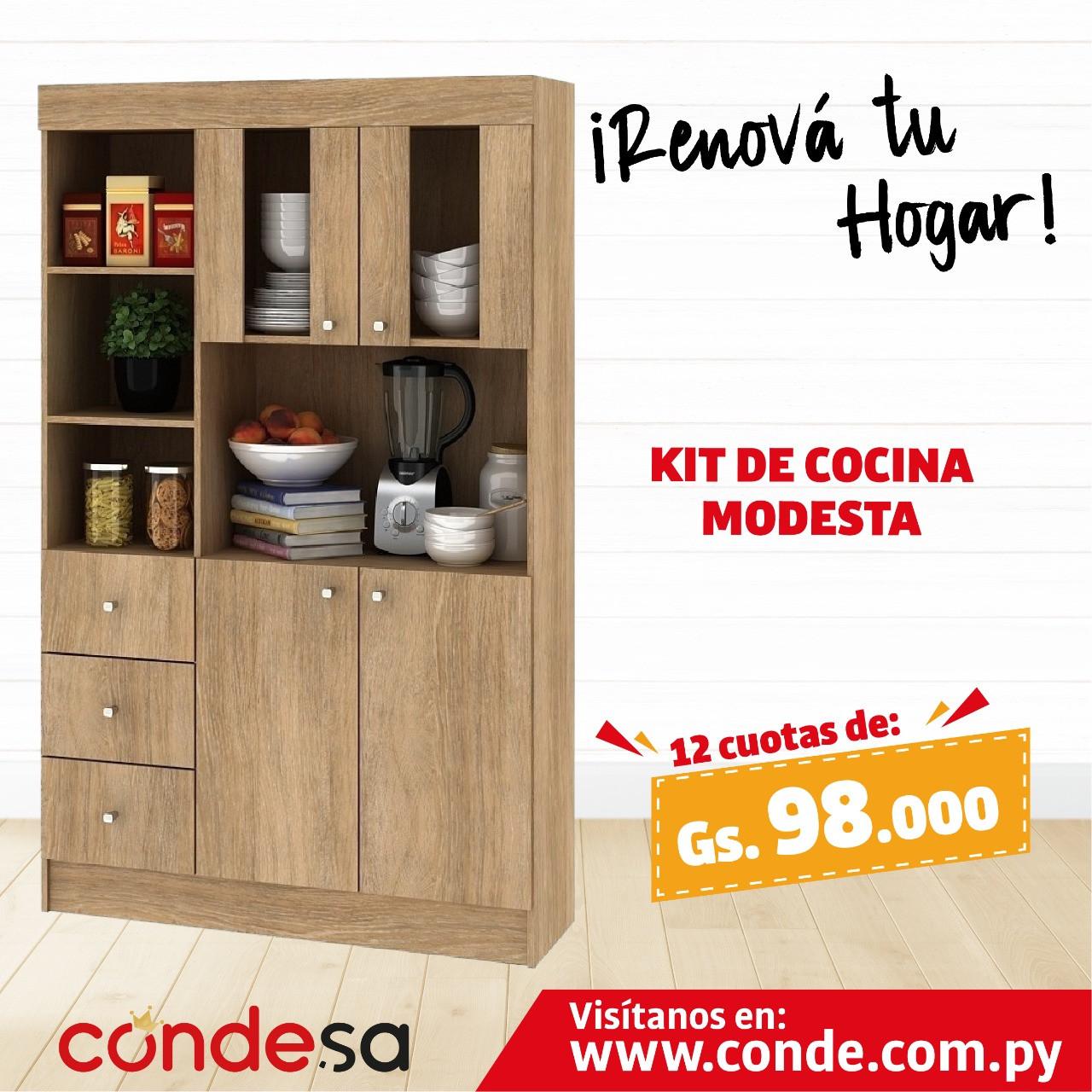 KIT DE COCINA MODESTA