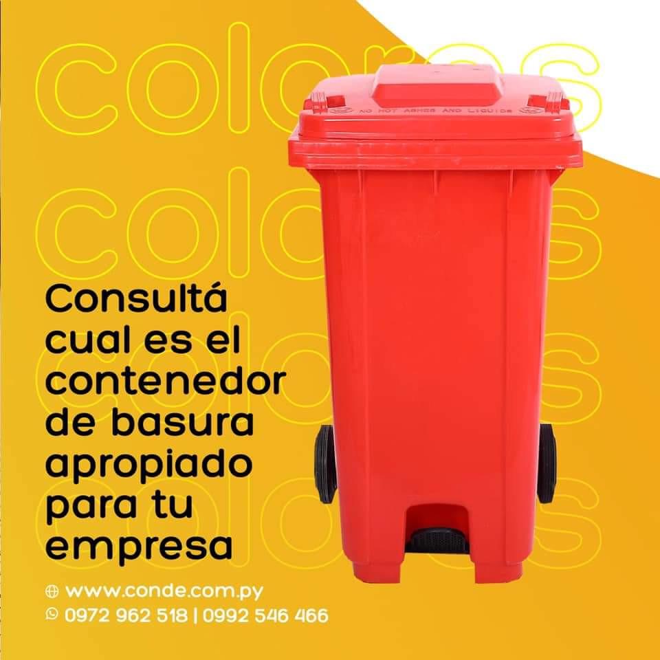 CONTENEDOR DE BASURA 120, 240 LTS