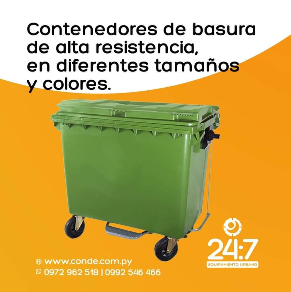 CONTENEDOR DE BASURA 1100 LTS
